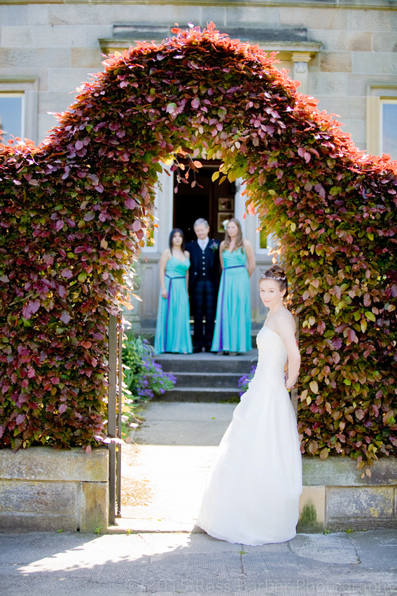 weddings at Oxenfoord castle