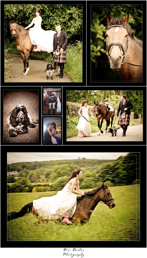 Pittodrie House wedding photographs